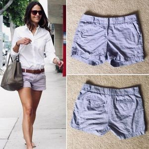 J Crew lavender chino size 00 shorts